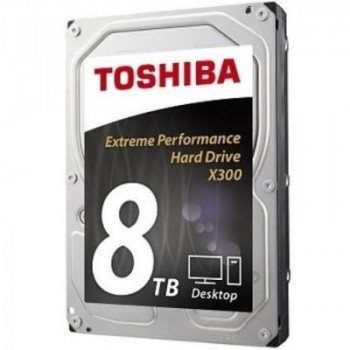 "Жесткий диск Toshiba High-Performance X300 8TB 7200rpm 128MB HDWF180UZSVA 3.5"" SATA III"