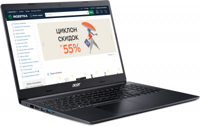 Ноутбук Acer Aspire 5 A515-55G-54WE (NX.HZDEU.00F) Charcoal Black