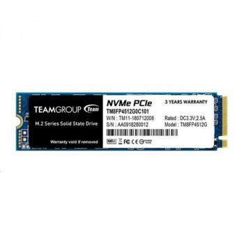 Накопичувач SSD 512GB Team MP34 M. 2 2280 PCIe 3.0 x4 3D TLC (TM8FP4512G0C101)