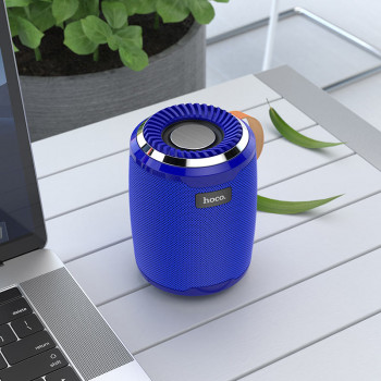 Портативная Bluetooth колонка Hoco BS39 Cool sports wireless speaker Blue