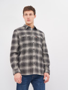 Рубашка Levi's Jackson Worker Ametrine Jet Black Plaid 19573-0127 L (5400898437110) - изображение 1