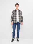 Рубашка Levi's Jackson Worker Ametrine Jet Black Plaid 19573-0127 M (5400898317504) - изображение 3