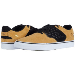 Кеди Emerica The Low Vulc Gold/Black, 39.5 (245 мм) (11188734)