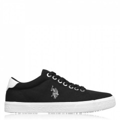Кеди US Polo Assn US Polo Jaxon Sn02 BLK Black, 44 (290 мм) (11217754)