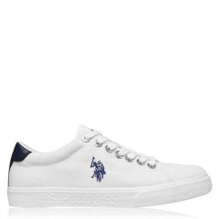 Кеди US Polo Assn US Polo Jaxon Sn02 White WHI, 41 (260 мм) (11217753)
