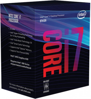 Процессор Intel Core i7-8700 3.2GHz/8GT/s/12MB (BX80684I78700) s1151 BOX