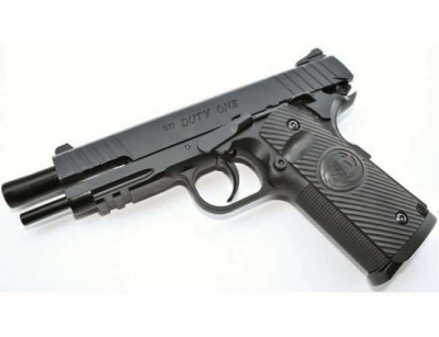 Пистолет пневматический ASG STI Duty One Blowback. Корпус - металл (2370.25.04)