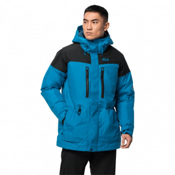 Пуховик NORTH ICE PARKA M Jack Wolfskin 1111681-1361 Синій