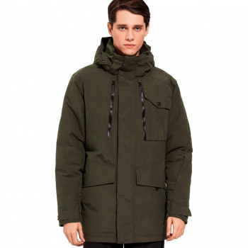Пуховик CASTLE HILL JACKET M Jack Wolfskin 1113111-4144 Зелений