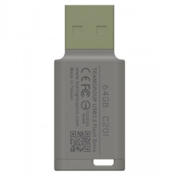 USB3.2 64GB Team C201 Green (TC201364GG01)