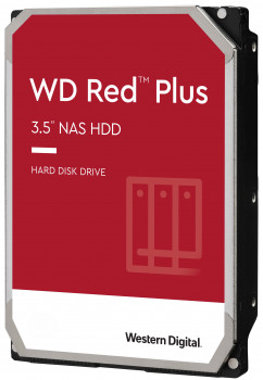Жорсткий диск Western Digital Red Plus 3TB 5400rpm 64MB WD30EFRX 3.5 SATA III