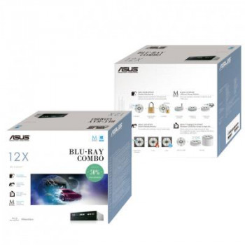 Оптичний привід Blu-Ray/HD-DVD ASUS BC-12D2HT/BLK/G/AS