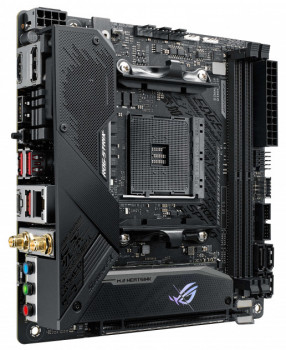 Материнська плата Asus ROG Strix B550-I Gaming (sAM4, AMD B550, PCI-Ex16)