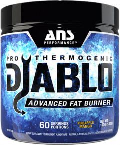 Жиросжигатель ANS Performance Diablo Thermogenic Ананас-манго 150 г (483327)