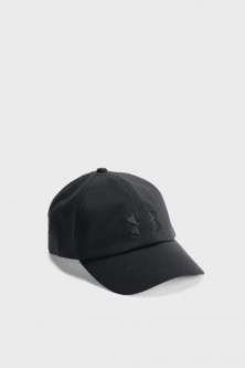 Жіноча чорна кепка UA Threadborne Renegade Cap Under Armour OSFA 1306289-001
