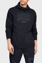 Мужское черное худи UA BASELINE FLEECE PO HOOD-BLK Under Armour XL 1343007-001
