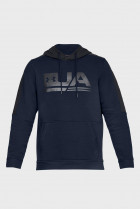 Мужское синее худи TB FLEECE GRAPHIC Under Armour M 1329749-408 - зображення 4