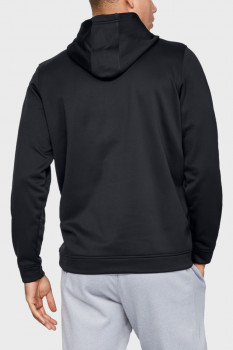 Чоловіче чорне худі PERFORMANCE FLEECE GRAPHIC HOODY Under Armour 1329743-001