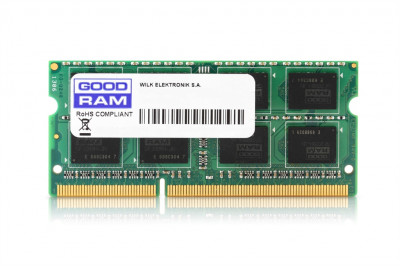 Модуль пам'яті SO-DIMM DDR3 8Gb 1333 GOODRAM (GR1333S364L9/8G)