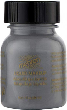 Рідкий грим Mehron Liquid Makeup Grey 30 мл (111C-MG-1) (764294511276)
