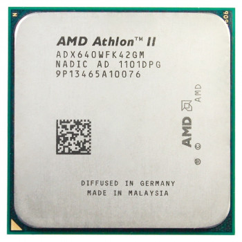 Процессор AMD Athlon II X4 640 3.00GHz/2M/2000MHz (ADX640WFK42GM) sAM2+/AM3, tray
