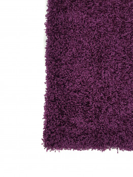 Ворсистий килим SUPER LUX SHAGGY 1.5х3 м. DARK PURPLE 6365A