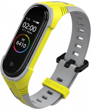 Xiaomi Mi Band 4 MiJobs X Yellow/Grey (MJ4-XSS003YG)