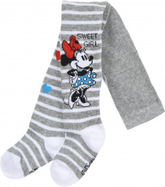 Колготки Disney Minnie HS0730 68-74 см Світло-сірі (3609084082147)