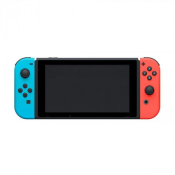 Nintendo Switch Neon Blue-Red (Upgraded version) + Игра FIFA 21 Legacy Edition (русская версия)