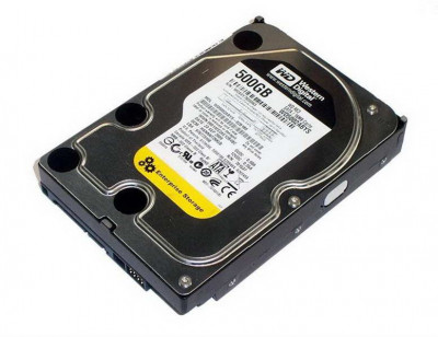 HDD SATA 500GB WD RE3 7200rpm 16МВ (WD5002ABYS) Refurbished