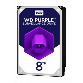 HDD SATA 8.0TB WD Purple 7200rpm 256MB (WD82PURZ)