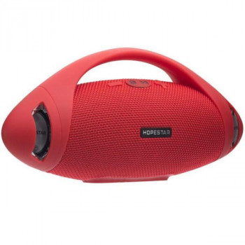 Bluetooth-колонка HOPESTAR-H37, StrongPower, c функцией speakerphone, радио, red
