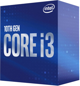 Процесор Intel Core i3-10100F 3.6 GHz / 6 MB (BX8070110100F) s1200 BOX