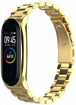 Xiaomi Mi Band 4 MiJobs Metal Plus Gold (MJ4-PMS006G)