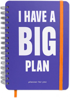 Большой планер I Have A Big Plan Violet (orner-1149)