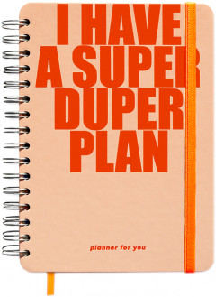 Большой планер I Have A Super Duper Plan Peachy (orner-1150)