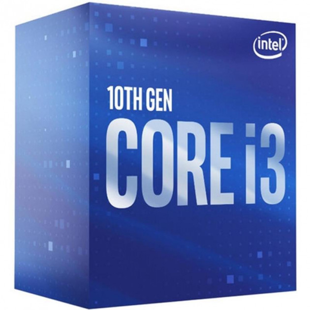 Процесор Intel Core i3 10100F 3.6 GHz (6MB, Comet Lake, 65W, S1200) Box (BX8070110100F) - зображення 1