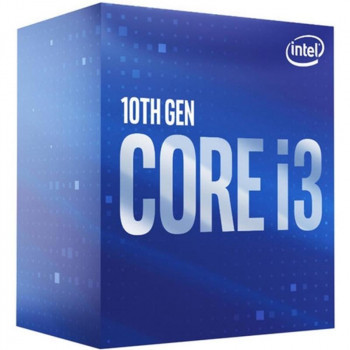 Процессор Intel Core i3 10100F 3.6GHz (6MB, Comet Lake, 65W, S1200) Box (BX8070110100F)