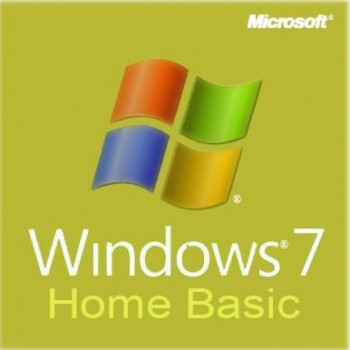 Операционная система Microsoft Windows 7 Home Basic 64-bit Russian DVD OEM (F2C-00886)