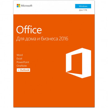 Офисное приложение Microsoft Office 2016 Home and Business 32/64bit Russian DVD BOX (T5D-02290)