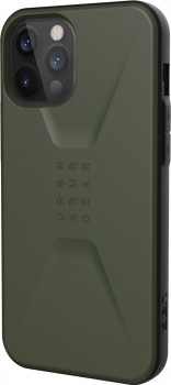 Панель UAG Civilian для Apple iPhone 12 Pro Max Olive (11236D117272)