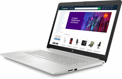 Ноутбук HP 17-by3053ur (22Q66EA) Natural Silver