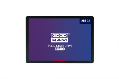 "Накопитель SSD 256GB GOODRAM CX400 2.5"" SATAIII 3D TLC (SSDPR-CX400-256)"