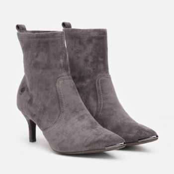Ботильйони XTI Microfiber Ladies Ankle Boots 35104 Сірі
