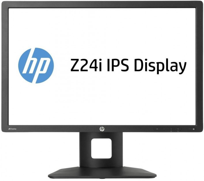 "Монитор 24"" HP Z24i (1920x1200), IPS LED, Class A, black, (D7P53A4) БУ - зображення 1"