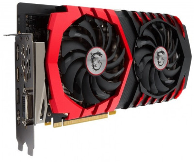 Видеокарта MSI GeForce GTX 1060 GAMING X 3G