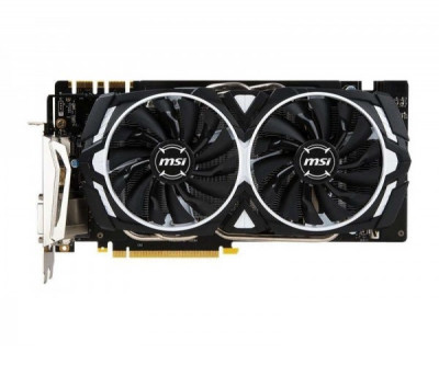 Видеокарта MSI GeForce GTX 1070 ARMOR 8G OC