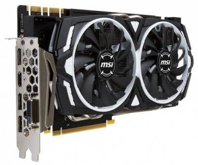 Видеокарта MSI GeForce GTX 1070 ARMOR 8G