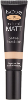 Тональная основа Isadora Natural Matt oil-free foundation 18 matt almond 35 мл (7317852142189)