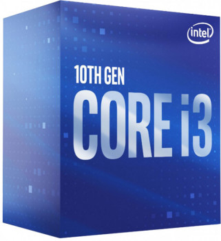 Процесор CPU Core i3-10100F 4-CORE 3,60-4.3 Ghz/6Mb/s1200/14nm/65W w/o graphics Comet Lake (BX8070110100F) s1200 BOX